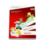 Limba si literatura romana manual pentru clasa a III-a, semestrul 1. Contine si varianta digitala