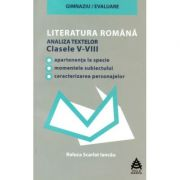 Literatura romana. Analiza textelor din manualele alternative. Clasele V-VIII
