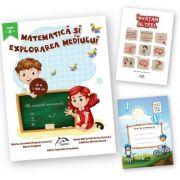 """Matematica şi explorarea mediului, clasa a II-a + carte cadou """"Invatam altfel"""" + caiet matematica oferit gratuit"""