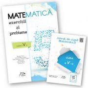 Matematica 2017 - Exercitii si probleme pentru clasa a V-a + CADOU 'Jurnal de clasa - Matematica, clasa a V-a'