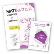 Matematica 2017 - Exercitii si probleme pentru clasa a VII-a + CADOU 'Jurnal de clasa - Matematica, clasa a VII-a'