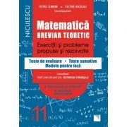 Matematica. Breviar teoretic. Exercitii si probleme propuse si rezolvate. Teste de evaluare. Teste sumative. Modele pentru teze. Filiera teoretica, profilul real, specializarea stiinte ale naturi. Clasa a XI-a