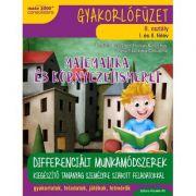 Matematica si explorarea mediului (in limba maghiara). Caiet de lucru. Clasa a II-a - Daniela Berechet
