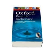 Oxford Essential Dictionary for elementary and pre-intermediate learners of English - Edition with CD-ROM
