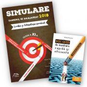 Simulare Bacalaureat 2018 - Limba și literatura romana, clasa a XI-a - Toate profilurile + Mic ghid de invatare rapida oferit gratuit