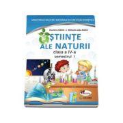 Manual pentru Stiinte ale naturii clasa a IV-a, semestrul I si semestrul al II-lea (Contine ed. digitala) Dumitra Radu