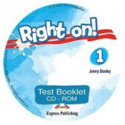 Curs engleza Right on! 1 Test Booklet CD-ROM - Jenny Dooley
