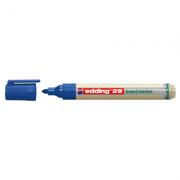 Marker pentru tabla Edding 28, ecologic, varf rotund, 1. 5-3 mm, albastru ( ED280003 )