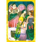 Povestiri ilustrate-Cenusareasa si cei trei purcelusi