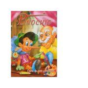 Pinochio (carte de citit si colorat) (format A4)