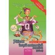 Piticot invata matematica 4-5 ani. Domeniul: Stiinte (Adina Grigore)