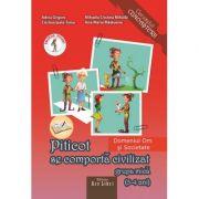 Piticot invata matematica 3-4 ani. Domeniul: Om si Societate - Adina Grigore