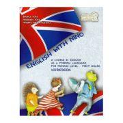 English with Nino. Workbook (Caietul elevului). Clasa I