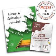 Limba si literatura romana 2017 – clasa a VI-a + CADOU 'Limba si literatura romana - Jurnal de lectura si scriere creativa, clasa a VI-a'