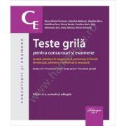 Teste grila pentru concursuri si examene. Editia a VIII-a