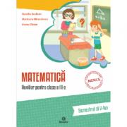 Matematica - clasa a III-a - semestrul al II-lea (A. Șeulean, E. Oltean, M. Minculescu)