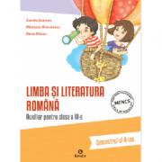 Auxiliar pentru clasa a III-a - Limba si literatura romana - semestrul al II-lea
