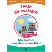 Matematica si explorarea mediului clasa a II-a - Teste de evaluare