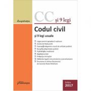 Codul civil si 9 legi uzuale. Actualizat 18 ianuarie 2017