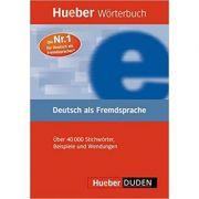 Hueber Dictionaries and Study-AIDS Worterbuch Deutsch Als Fremdsprache (German Edition) Dictionar German-German