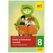 Evaluare nationala la finalul clasei a VIII-a. Limba si literatura Romana 2018 (Mihail Stan, Florin Ionita )