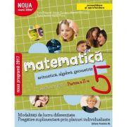Mate 2000+ Caiet de lucru pentru clasa a V-a partea a II-a CONSOLIDARE (Aritmetica, algebra, geometrie-Sorin Peligrad) - Florin Antohe