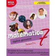 Mate 2000+ Caiet de lucru pentru clasa a VII-a partea a II-a CONSOLIDARE ( Aritmetica, algebra, geometrie-Sorin Peligrad )