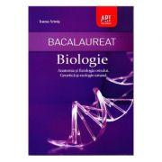 Bacalaureat Biologie. Anatomia si fiziologia omului. Genetica si ecologie umana - Ioana Arinis - Ed. Art