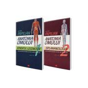 Anatomia omului. Aparatul locomotor si Splanhnologia. Volumele 1 si 2 (Victor Papilian)
