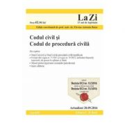 Codul civil si Codul de procedura civila. (Flavius Antoniu Baias) Editie actualizata 20. 09. 2016