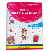 Domeniul limba si comunicare, pentru grupa mijlocie (4-5 ani)- Tudor Ana