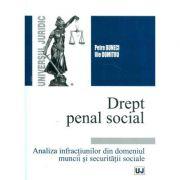 Drept penal social. Analiza infractiunilor din domeniul muncii si securitatii sociale (Petre Buneci, Ilie Dumitru)