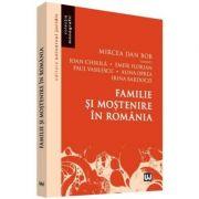 Familie si mostenire in Romania (Mircea Dan Bob)