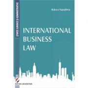 International Business Law (Raluca Papadima)