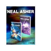 Pachet Neal Asher (2 titluri). Agentul Cormac. Razboi in zona de separatie - Neal Asher