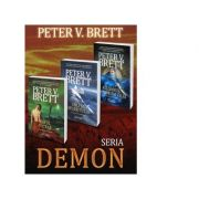 Pachet Seria Demon vol. 1-3 (Omul pictat. Sulita desertului. Razboiul la lumina zilei) - Peter V. Brett