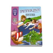Peter Pan. Retold by H. Q. Mitchell. Primary Readers level 4. Student s Book with CD (Matthew James Barrie)