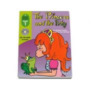 The Princess and the Frog, retold by H. Q. Mitchell. Primary Readers level 1 reader with CD (Fratii Grimm)