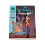 The Tin Soldier, retold by H. Q. Mitchell. Primary Readers level 3 Students book with CD (Hans Christian Andersen)