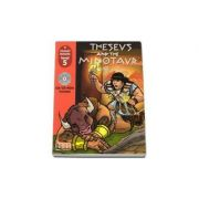 Theseus and the Minotaur, retold by H. Q. Mitchell. Primary Readers level 5 Student s Book with CD (Ioan Salomie)