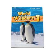 Curs de limba engleza World Wonders level 1 Students Book. Manual pentru clasa a V-a cu CD - Michele Crawford