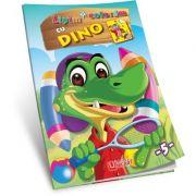 Lipim si coloram cu Dino