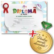 Pachet: Diploma de merit si medalie!
