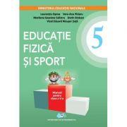 Educatie fizica si sport manual. Clasa a V-a. Contine editie digitala - Laurentiu Oprea