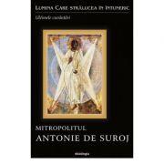 Lumina Care stralucea in intuneric. Ultimele cuvantari. Mitropolitul Antonie de Suroj