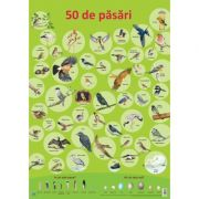 Plansa. 50 de pasari - Nelson Verlag
