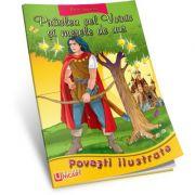 PRASLEA CEL VOINIC SI MERELE DE AUR - Povesti Ilustrate