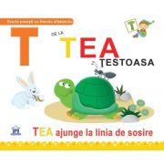T de la Tea, testoasa. Necartonata - Greta Cencetti