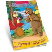 Ursul pacalit de vulpe. Poveste Ilustrata