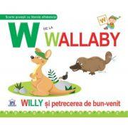 W de la Wallaby. Cartonata - Greta Cencetti